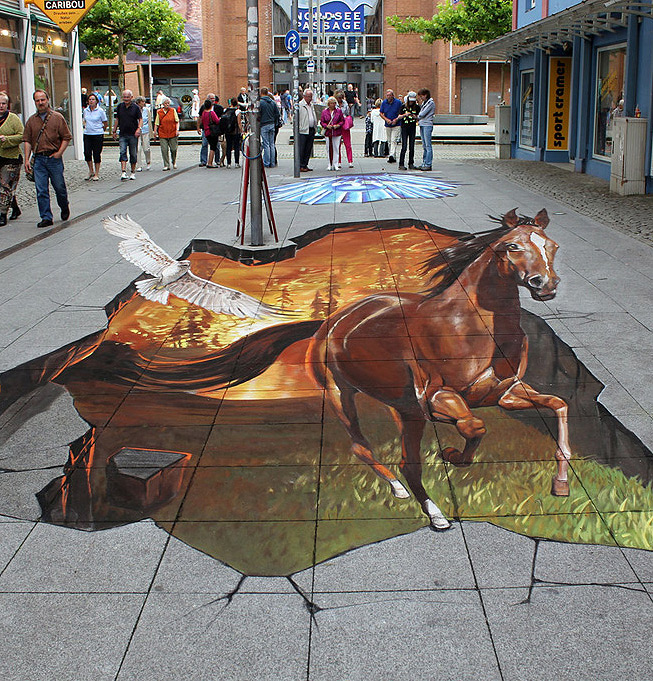 Beautiful 3d Street Art By Nikolaj Arndt 20 Pics I