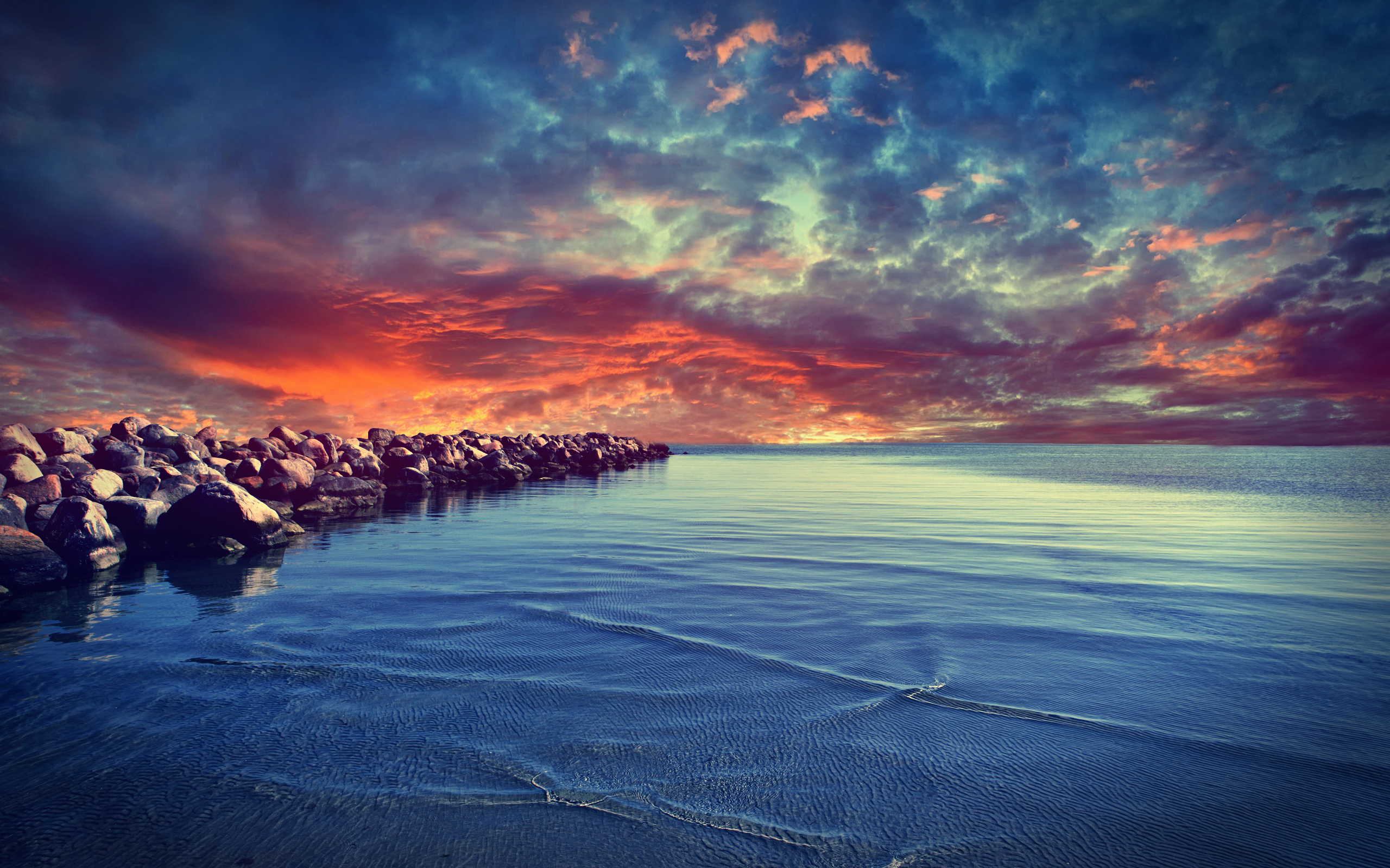 Daily Wallpaper Baltic Sea Sunset