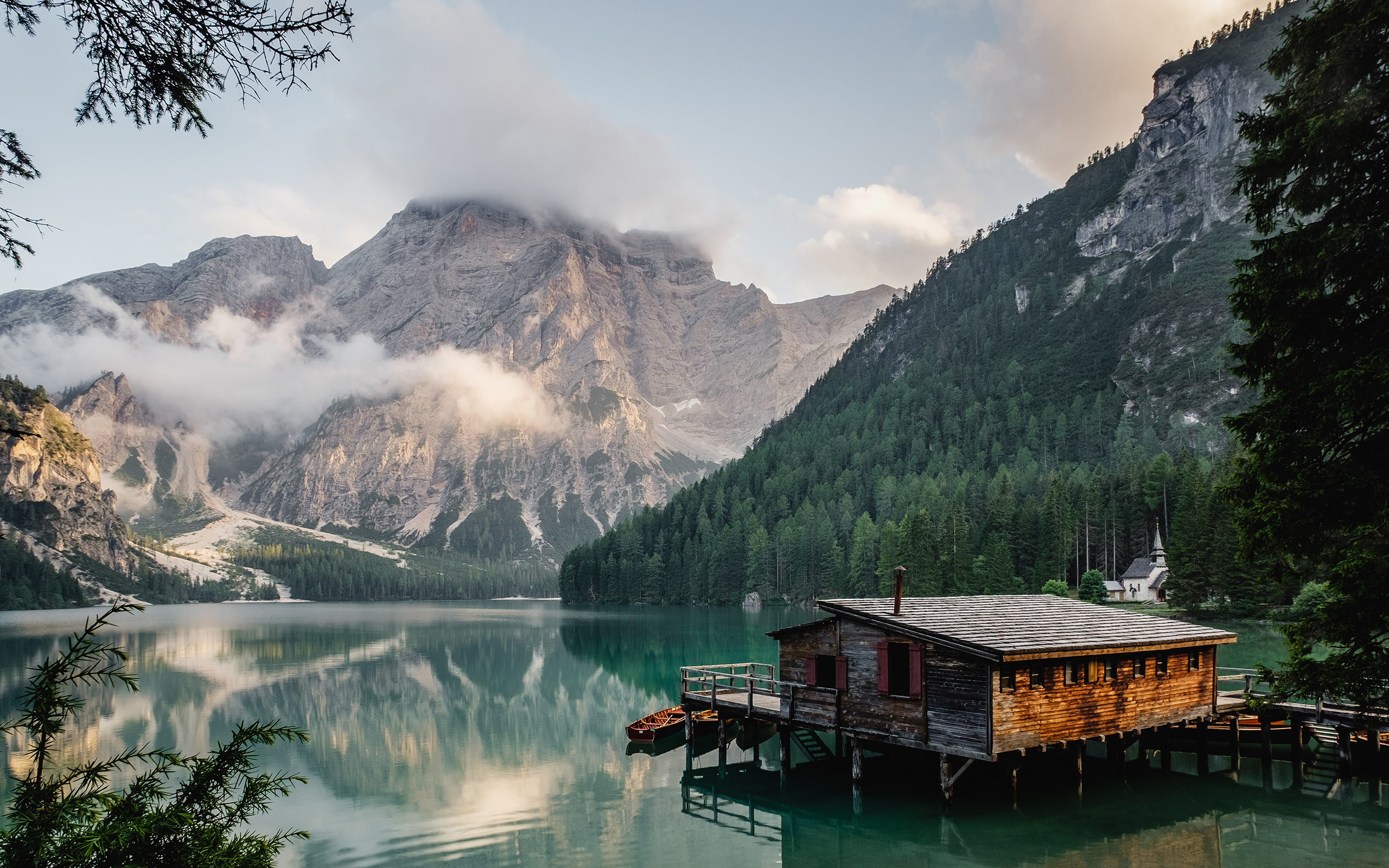 Daily Wallpaper Lago Di Braies Italy I Like To Waste