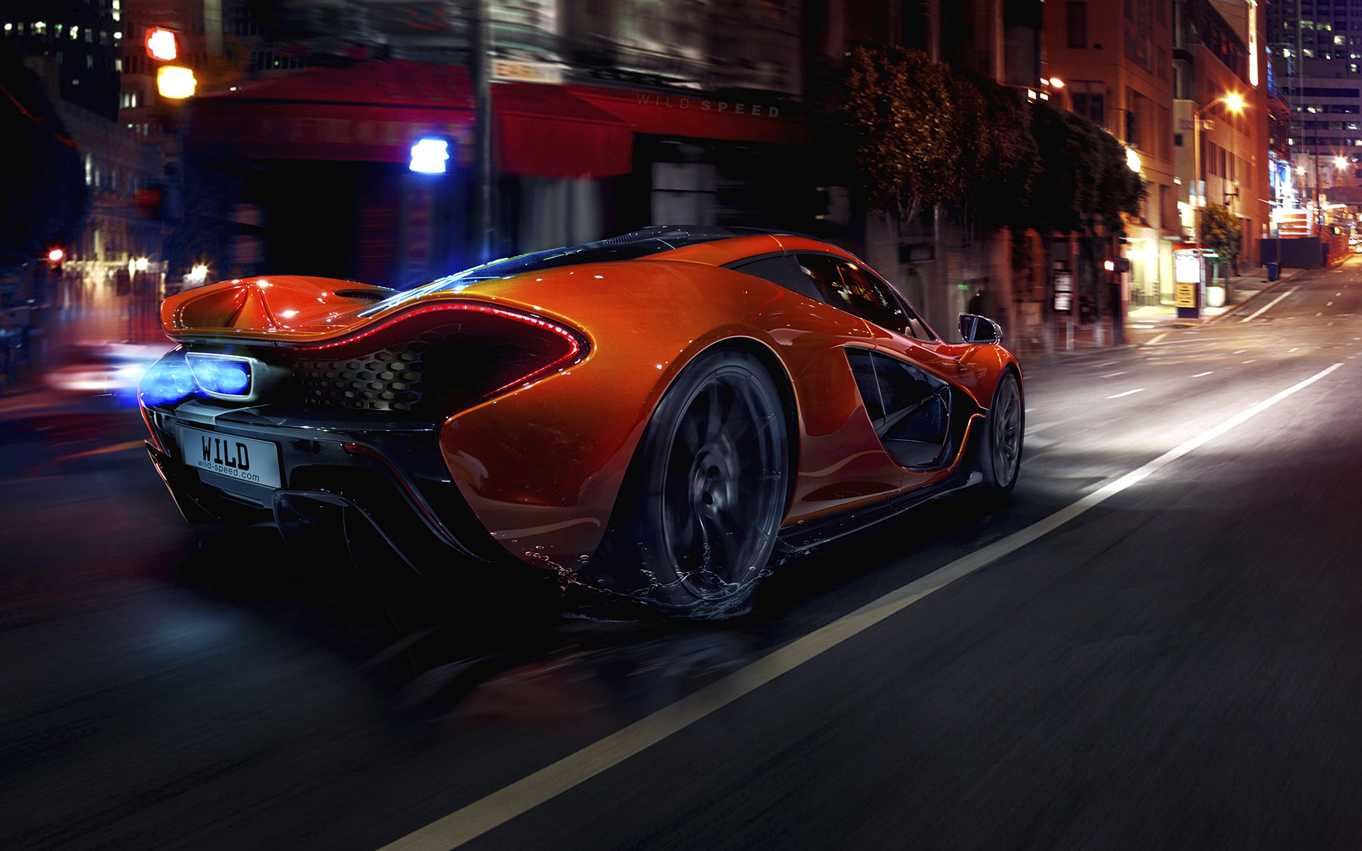 Daily Wallpaper Mclaren P1 I Like To Waste My Time
