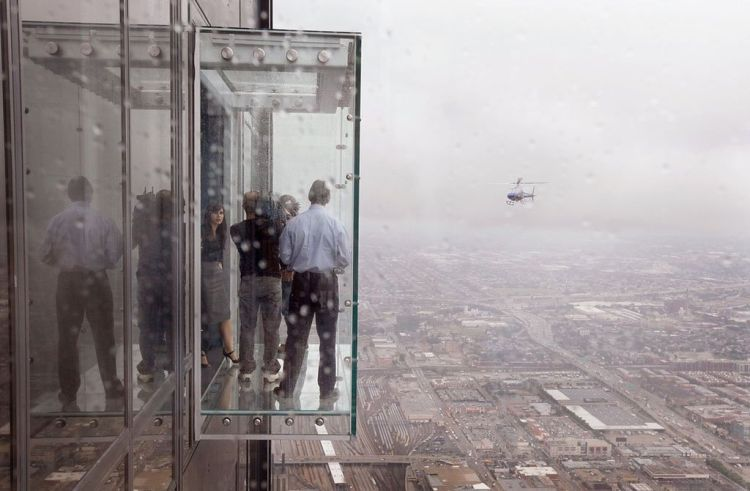 Chicago Sears Tower Balconies | I Like To Waste My Time
