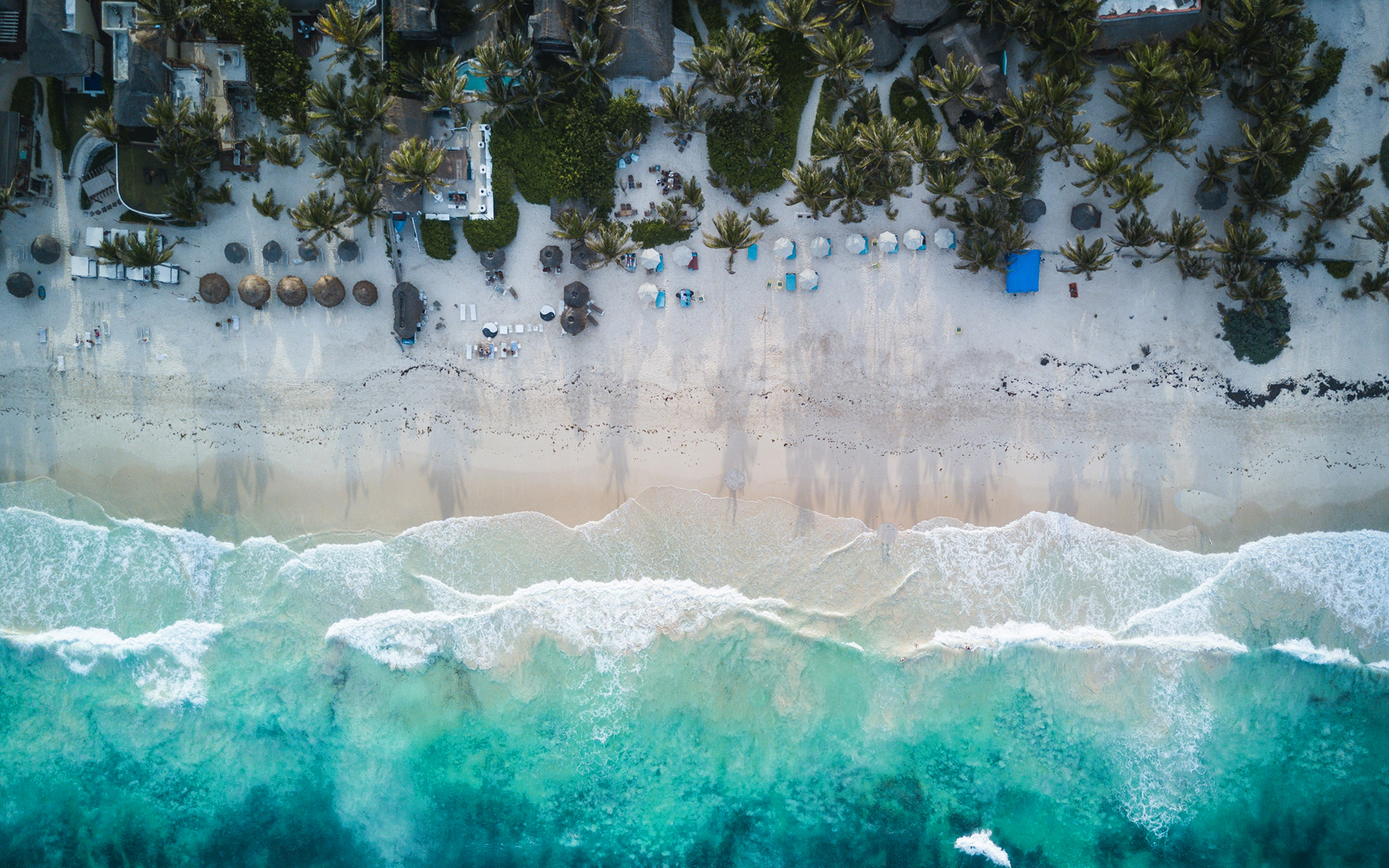 daily wallpaper: tulum beach, mexico | i like to waste my time