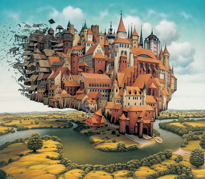 Amazing Surreal Paintings by a Polish Artist Jacek Yerka ...