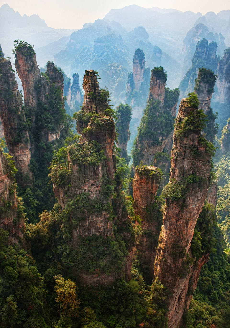 Zhangjiajie national forest park i like to waste my time for Chinese in the area