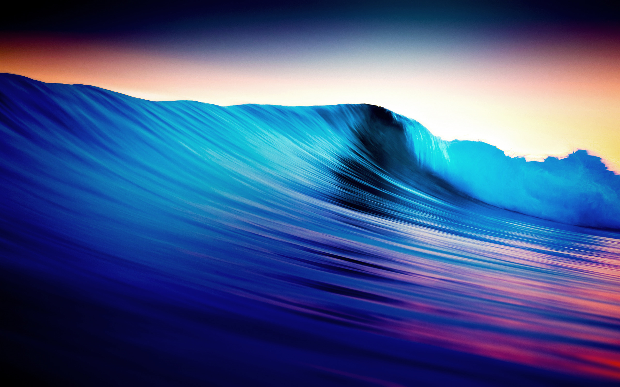 Daily Wallpaper Abstract Wave I Like To Waste My Time