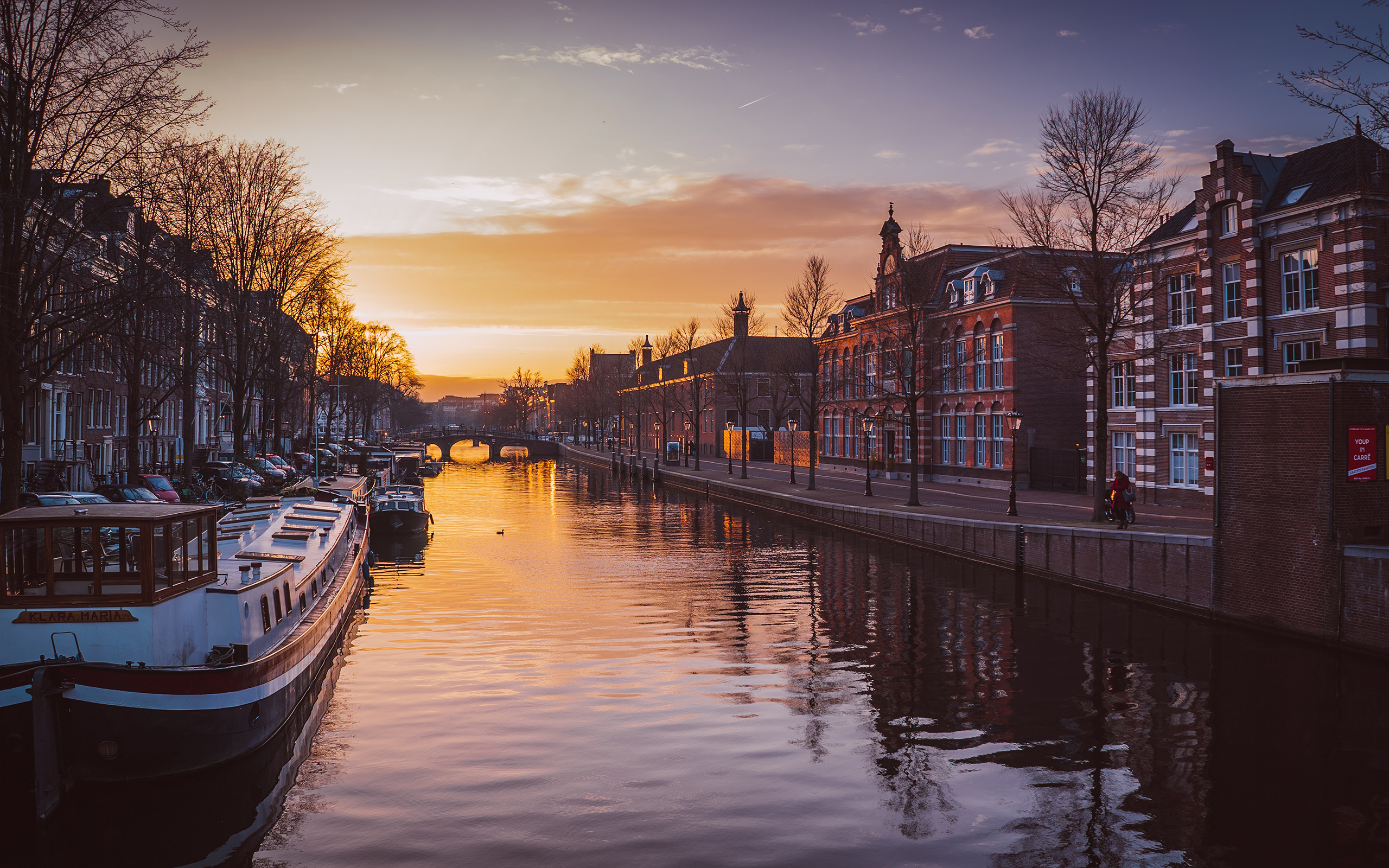 Daily Wallpaper Amsterdam At Sunset