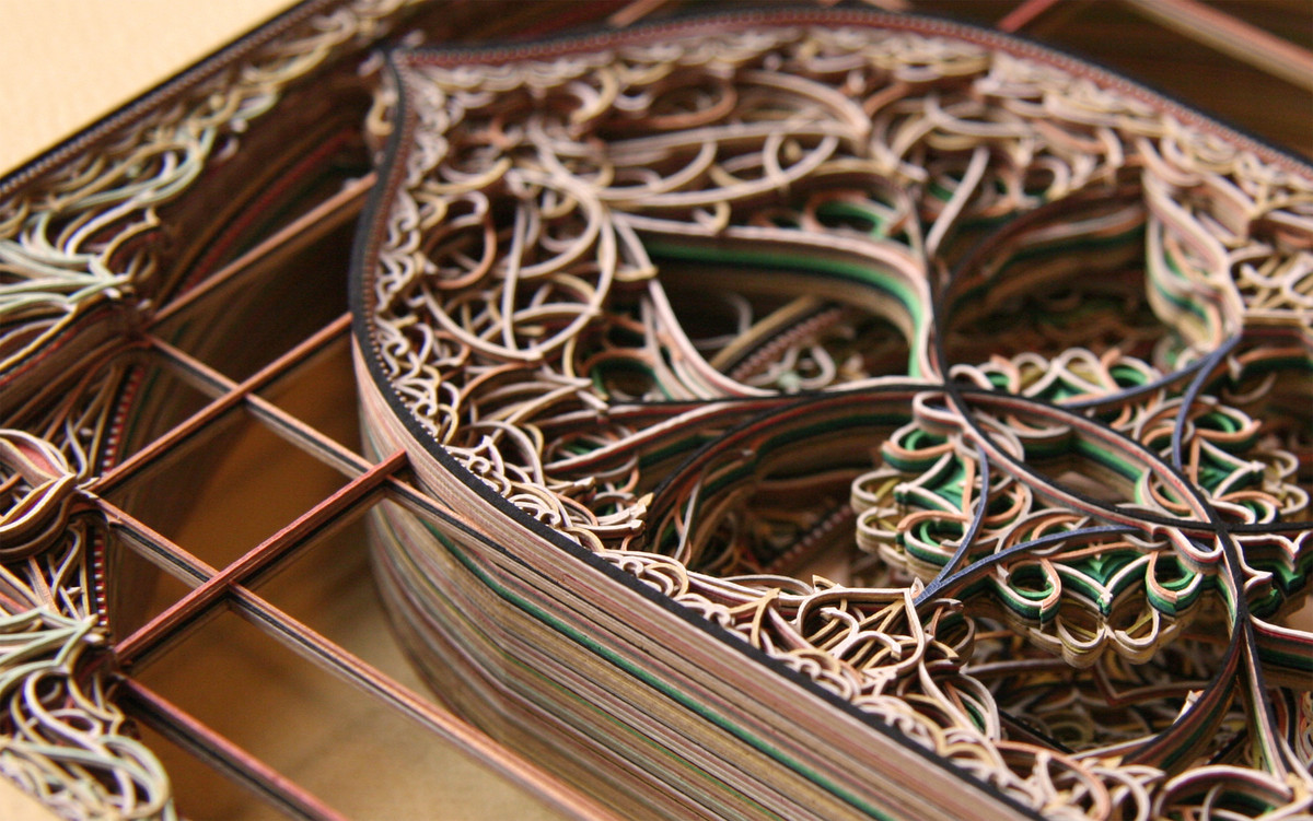MindBlowing Paper Art By Eric Standley I Like To Waste My Time - Beautiful laser cut paper art eric standley