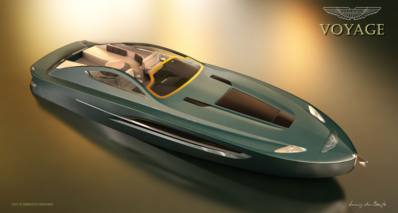 Aston Martin Voyage 55 Luxury Concept Yacht I Like To Waste My Time