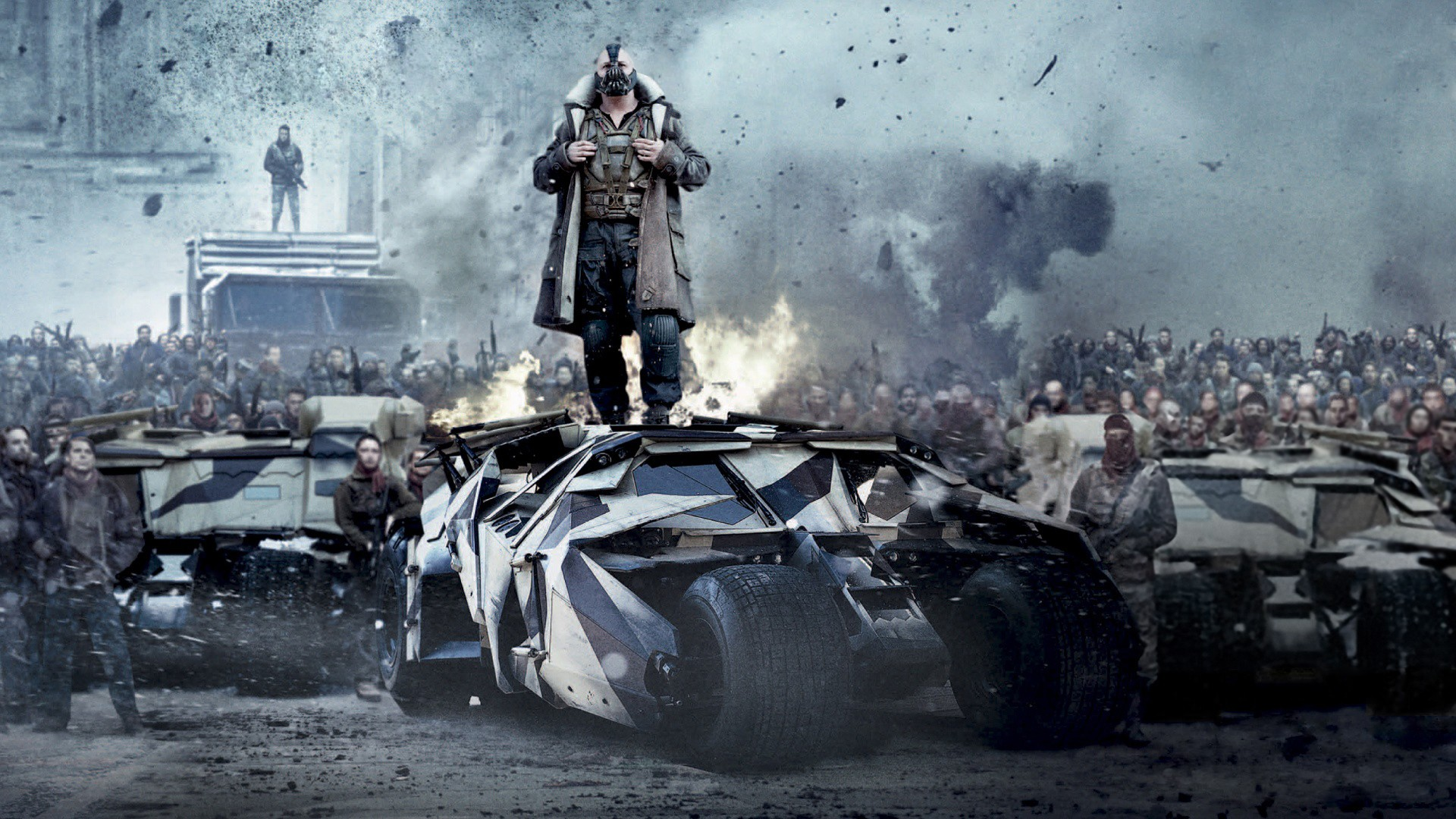 Daily Wallpaper The Dark Knight Rises