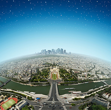 Abandoned Cars In Dubai >> Bird's Eye View of Paris from the Eiffel Tower | I Like To Waste My Time