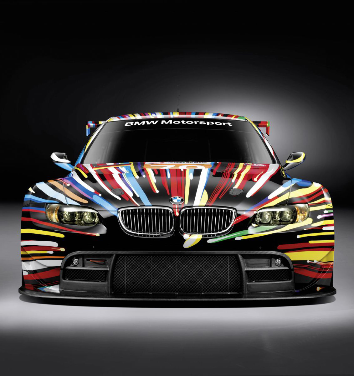 BMWs Awesome M GT Art Car By Jeff Koon I Like To Waste My Time - Cool car art