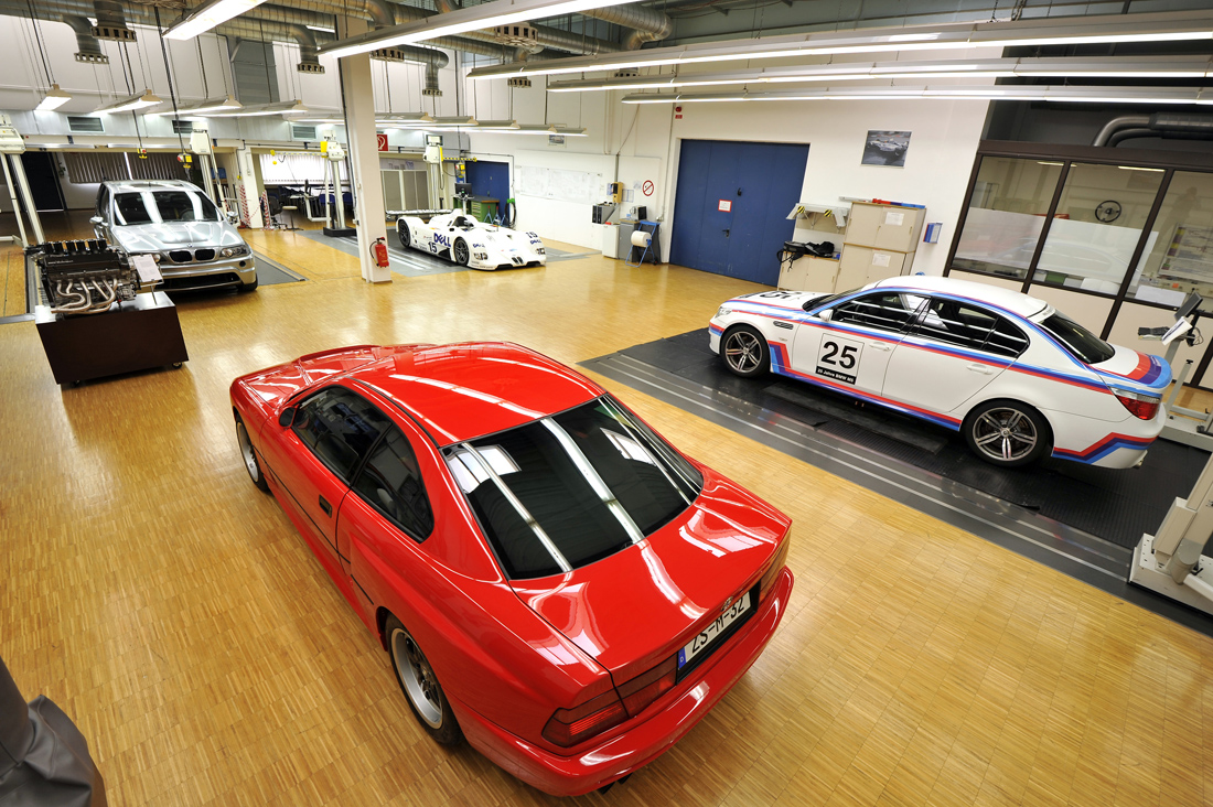 Bmw Garage Rotterdam : Bmw m secret underground garage unvieled