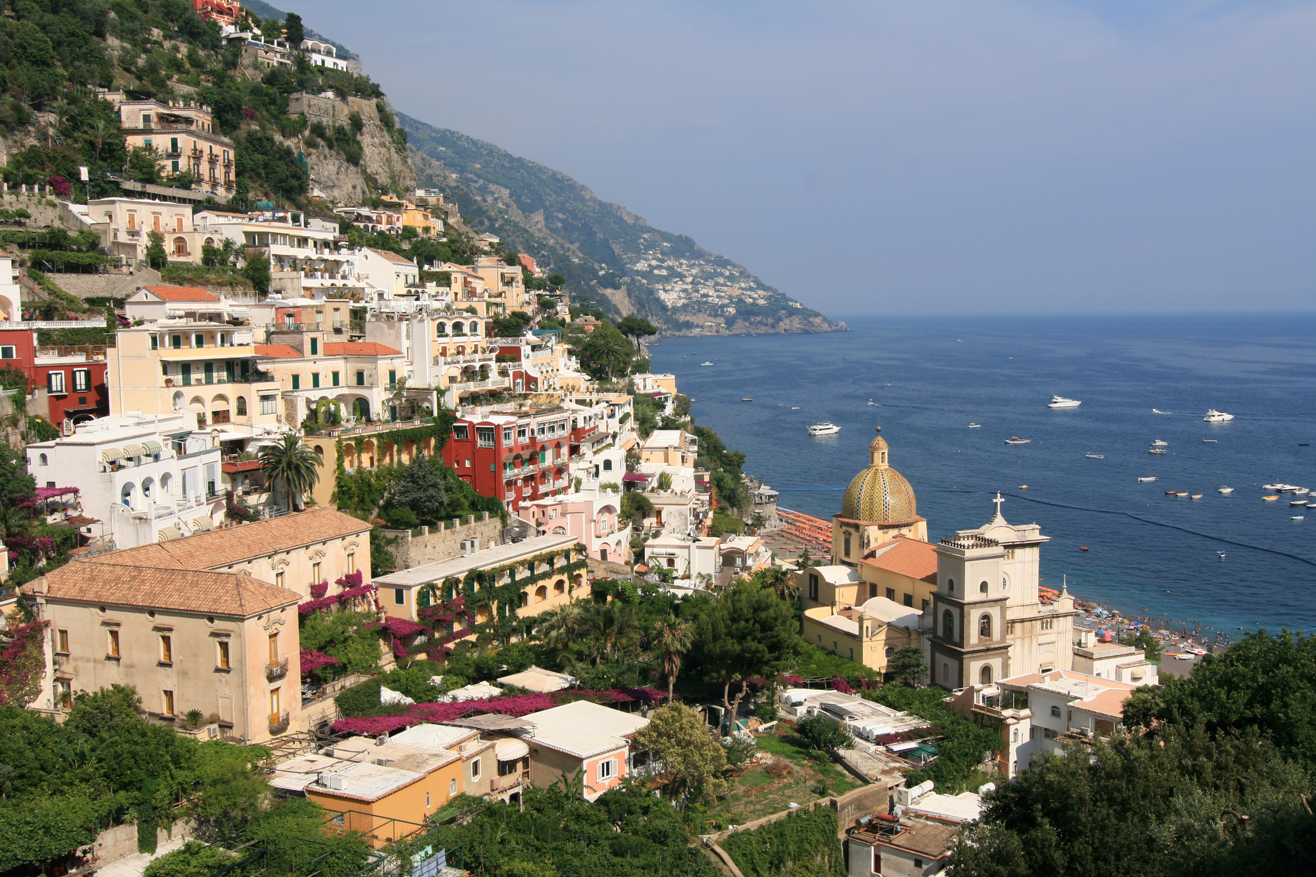Positano Italy  city images : ... Medieval Town of Positano in Campania, Italy | I Like To Waste My Time