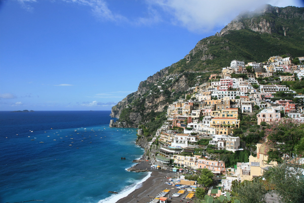Positano Italy  city photos : ... Medieval Town of Positano in Campania, Italy | I Like To Waste My Time