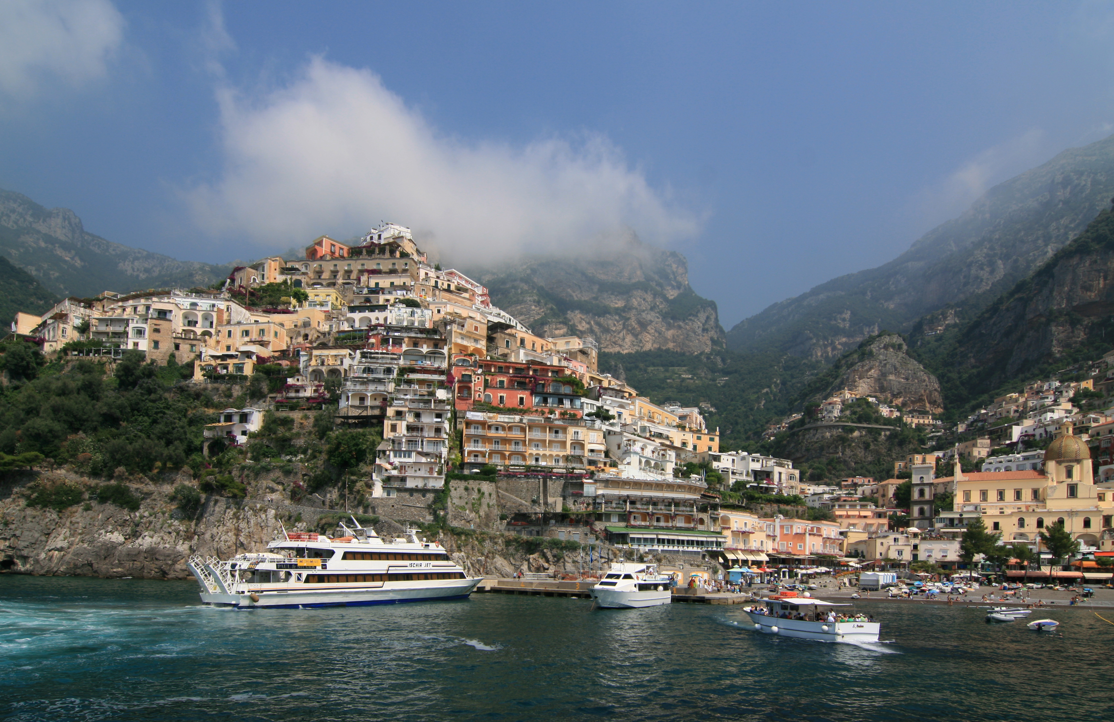 Positano Italy  City pictures : ... Medieval Town of Positano in Campania, Italy | I Like To Waste My Time