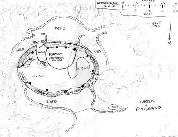 Lord of the rings hobbit house pictures