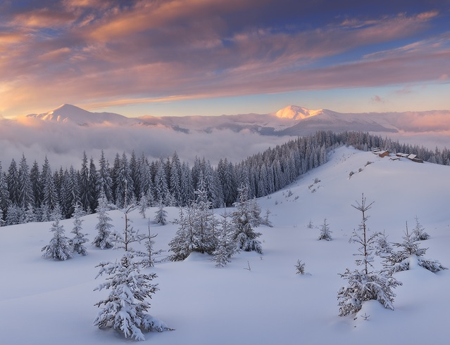 Winter In The Carpathian Mountains 20 Pics I Like To