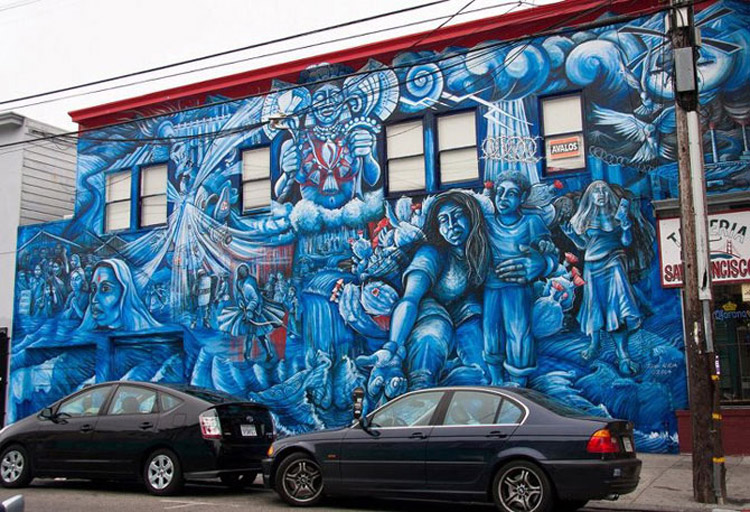 Awesome graffiti from around the globe 26 pics i like for Creative mural art