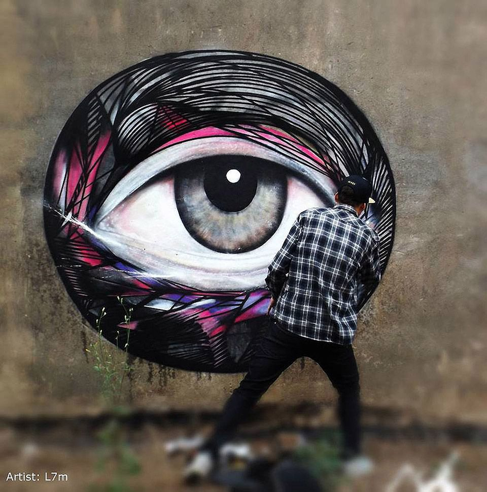 Awesome Graffiti From Around The Globe Pt.2 [18 Pics]