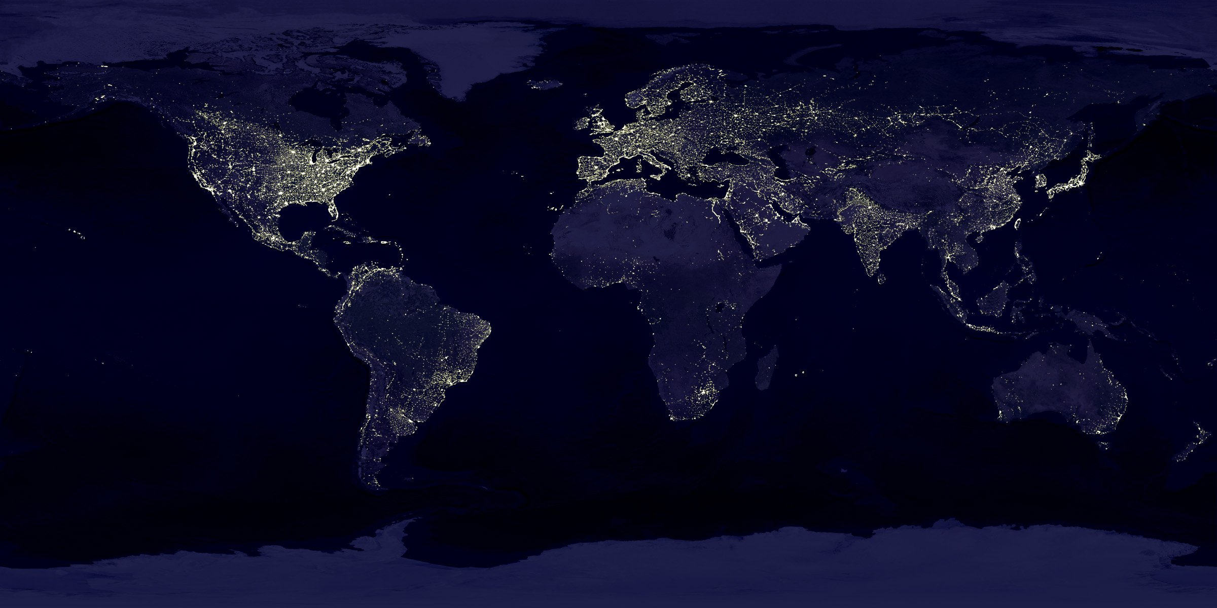 Daily wallpaper earth at night i like to waste my time voltagebd Images