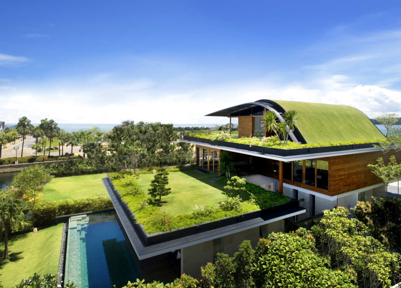 Environmentally friendly houses top eco homes in the world for Best homes in the world