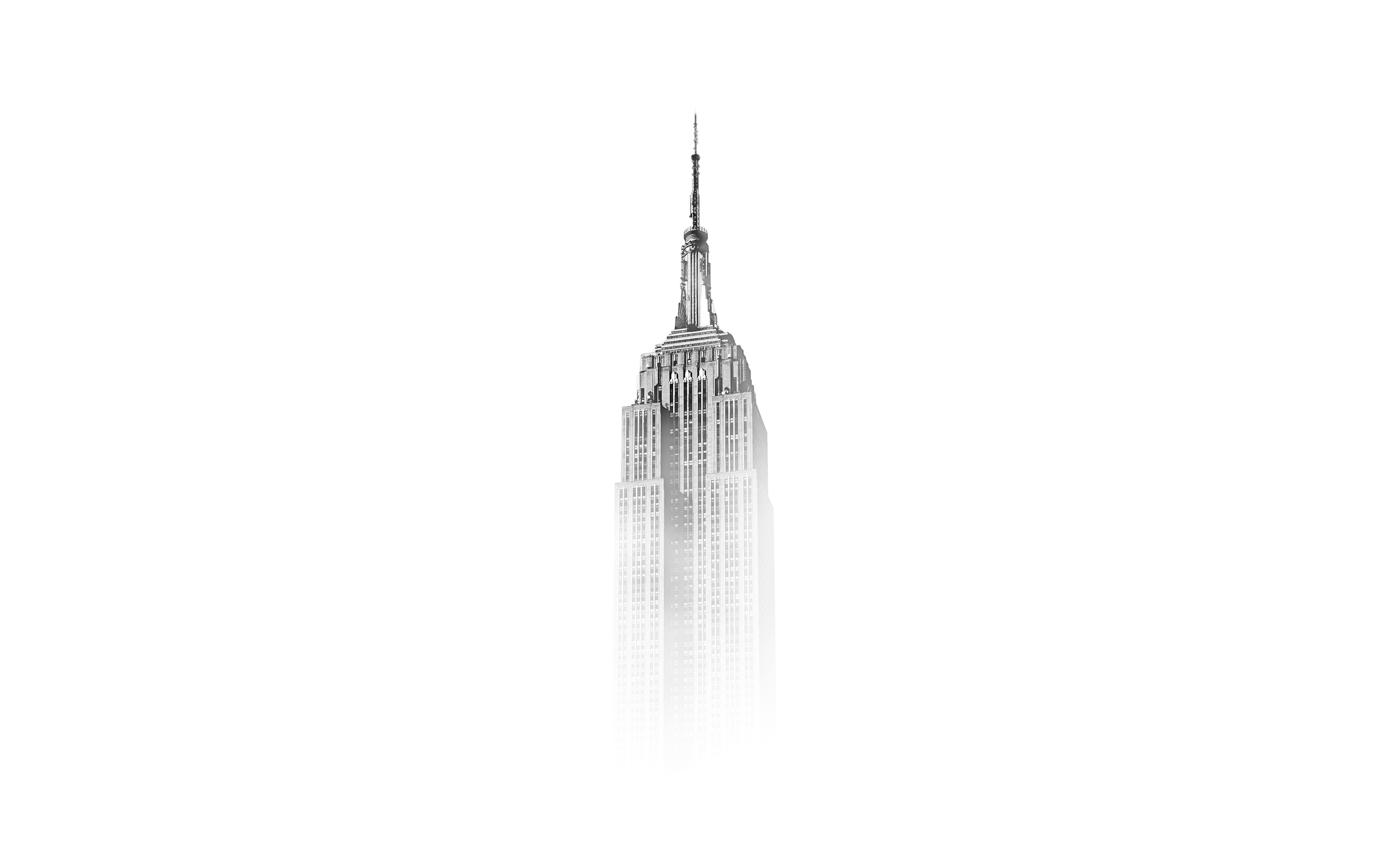 Empire State Building Quote: Daily Wallpaper: Empire State Building In Fog