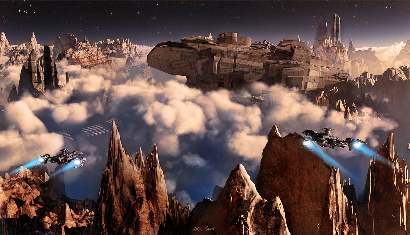 great sci fi art by finnian macmanus 17 i like to waste my time
