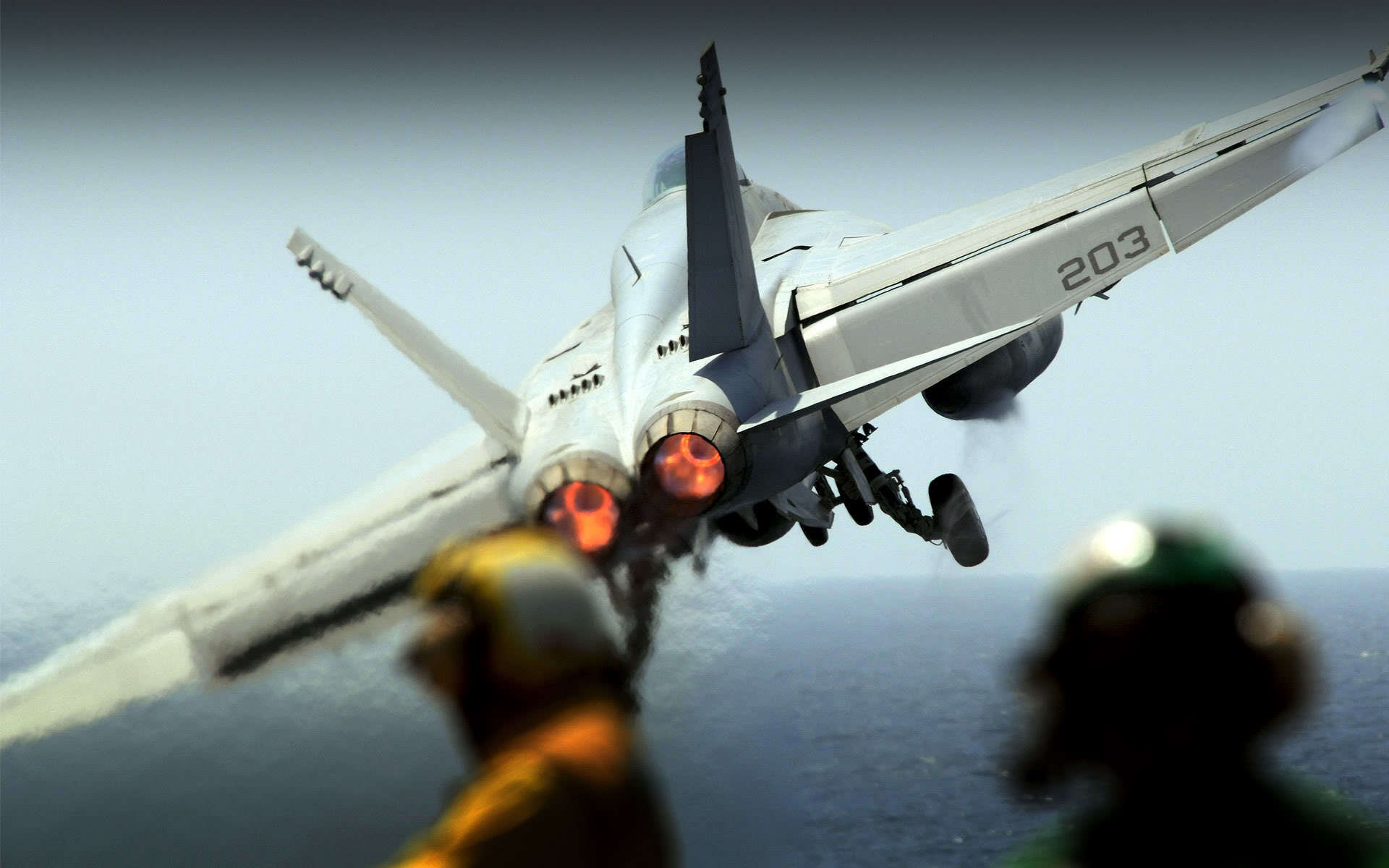 daily wallpaper f 18 carrier takeoff i like to waste my