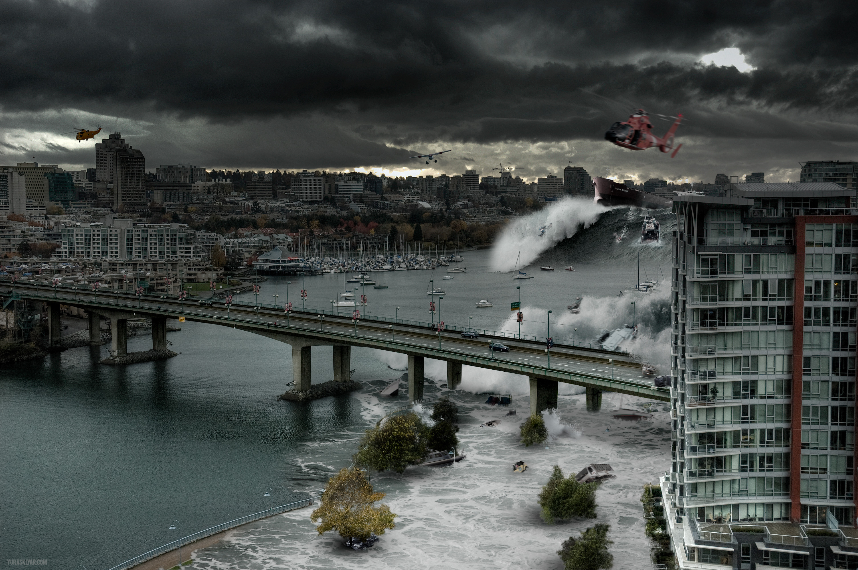 Daily wallpaper vancouver tsunami exclusive i like to for Home wallpaper vancouver
