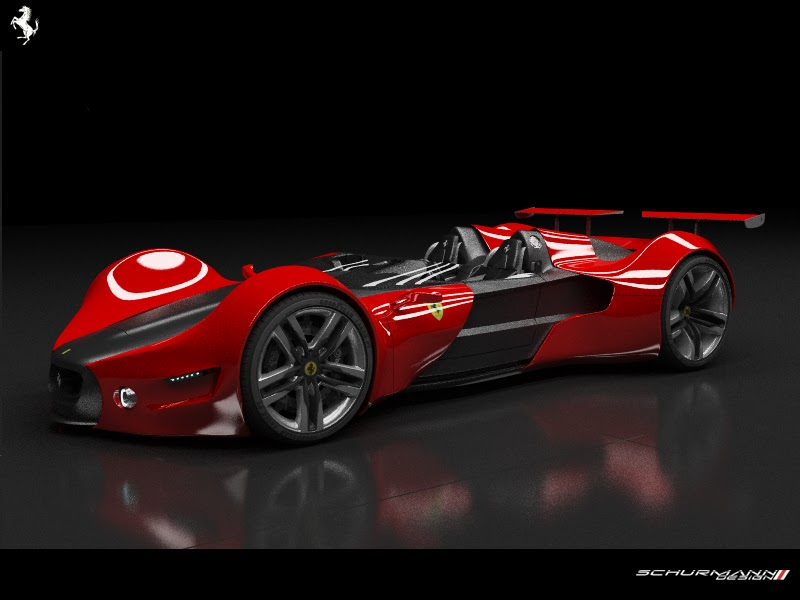 Elegant Ferrari Celeritas Was Done By A Design Student Aldo H. Schumann And Reminds  Us A Lot Of The Legendary Ferrari 250 TR. Take A Look At These Awesome ... Nice Design