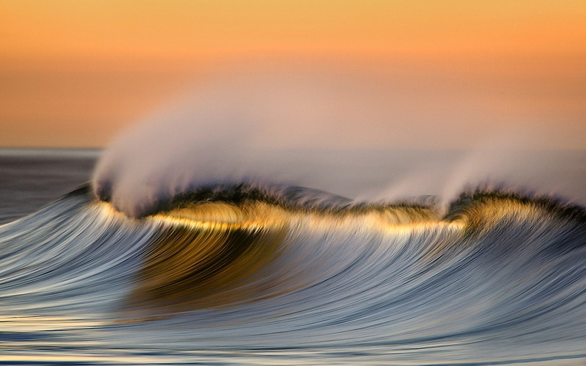daily wallpaper: wave | i like to waste my time