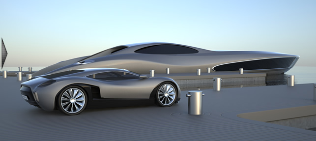 Why Not Buy A Mega Yacht To Go With Your New Super Car I Like