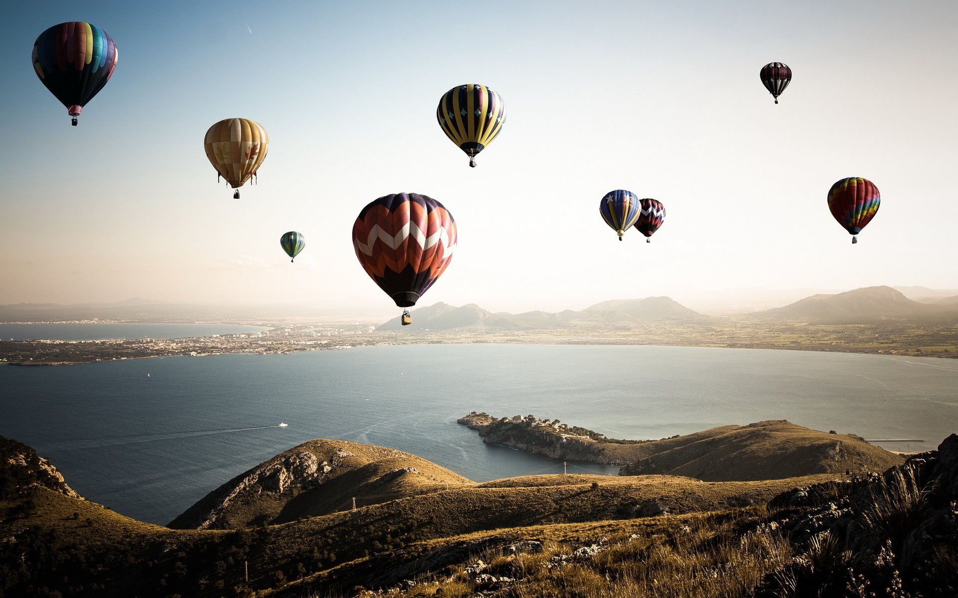 Daily Wallpaper Hot Air Balloons I Like To Waste My Time
