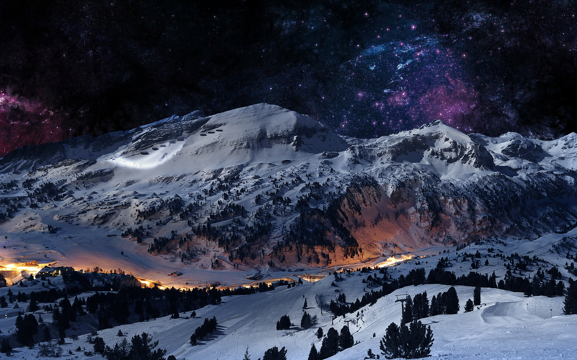Daily Wallpaper: Winter in the Mountains [Exclusive] | I ...