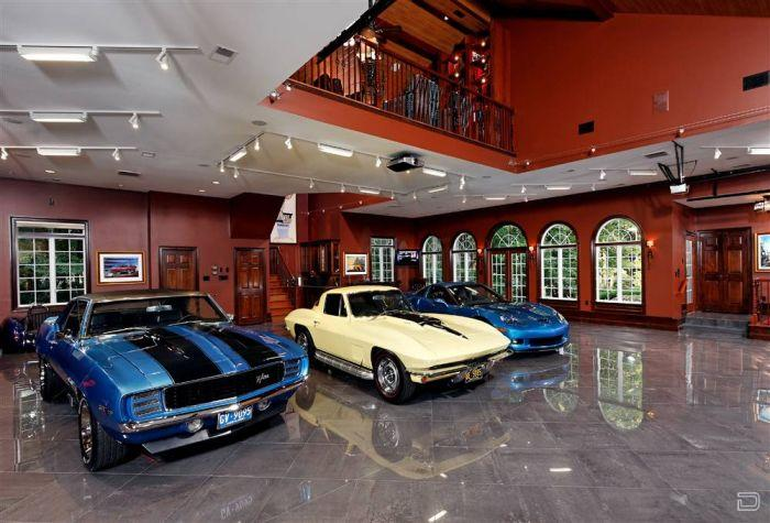 large garage lighting ideas | High End Cars Need Luxury Garages | I Like To Waste My Time