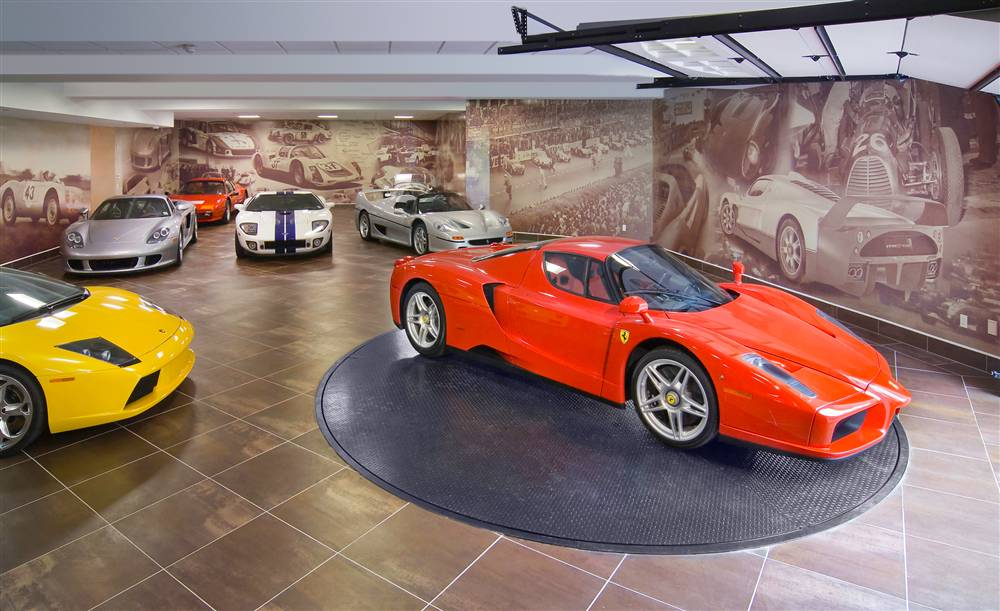 High End Luxury Cars: High End Cars Need Luxury Garages
