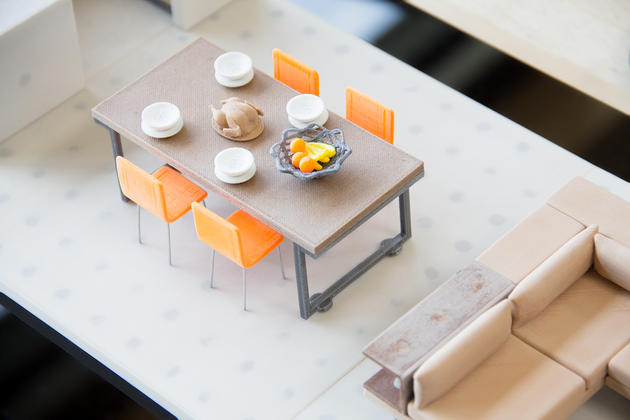 Modular Magnetic dining set