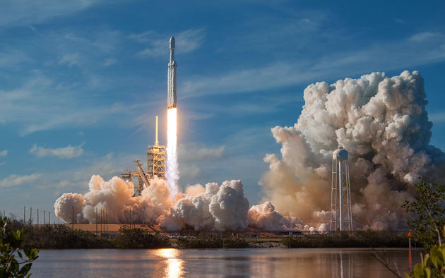 Daily Wallpaper Spacex Falcon Heavy Launch I Like To