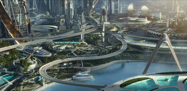 Tomorrowland movie concept art