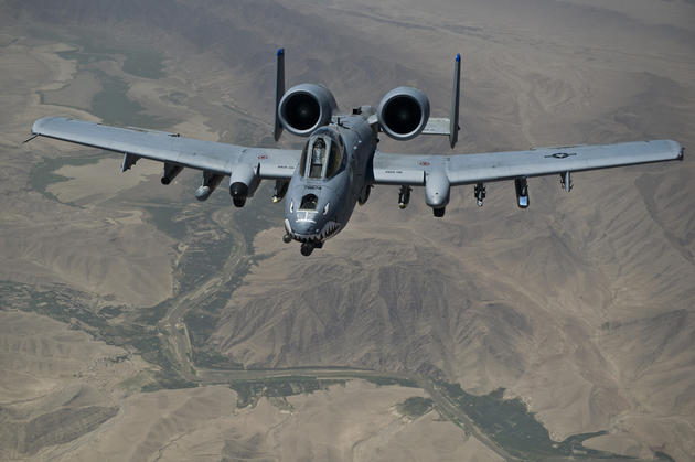 detailed front shot thunderbolt a-10