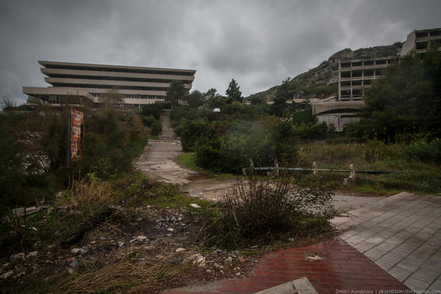 Abandoned Resort in Kupari, Croatia