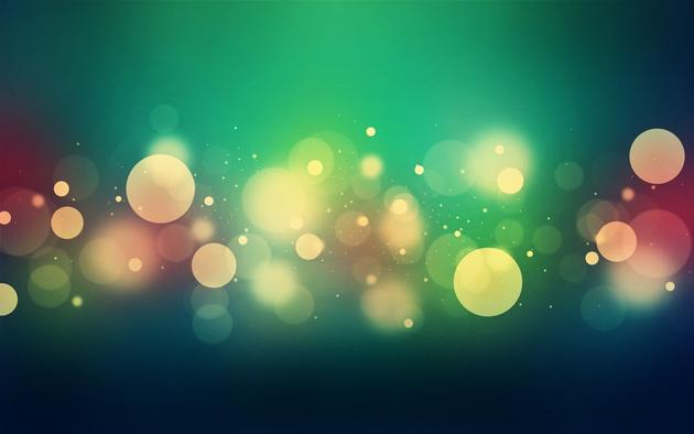 Abstract Bubbles Circles Wallpaper
