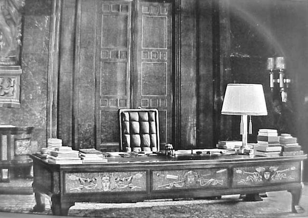 Adolf Hitler Private Study Room