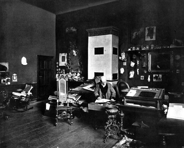 Adolph Menzel Private Study Room