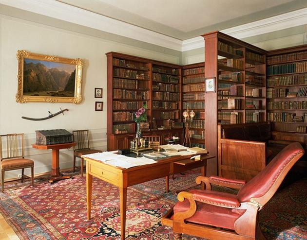 Alexander Pushkin Private Study Room