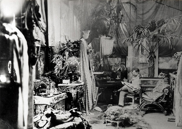 Alphonse Mucha Private Study Room