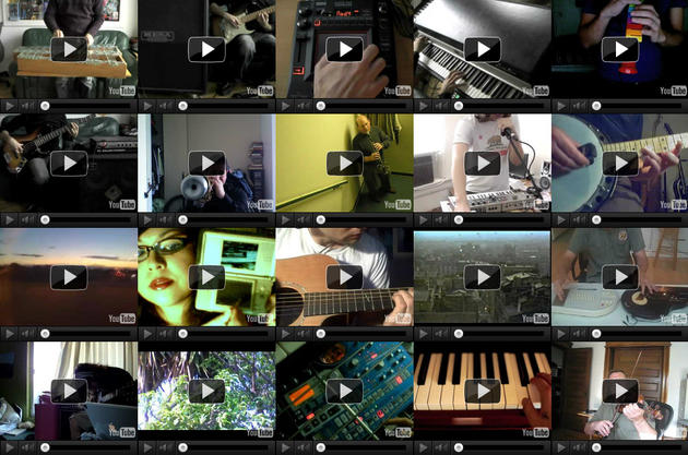 Amazing YouTube Musical Experiment by Darren Solomon