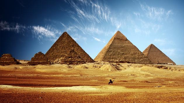 Ancient Egypt Pyramids Huge Wallpaper