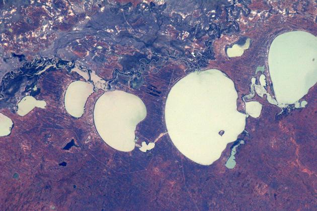 Australia from Space by Andre Kuipers
