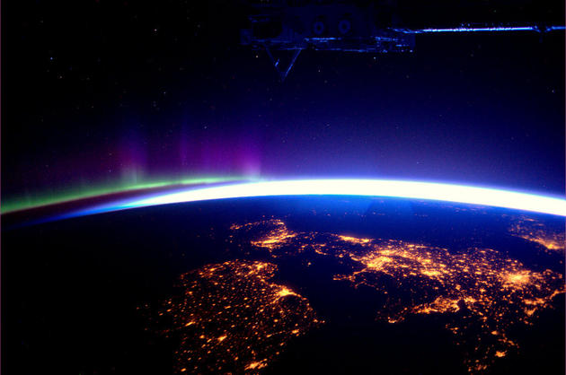 Wales, Ireland from Space by Andre Kuipers
